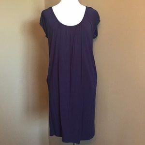 Oversized super soft purple dress with pockets